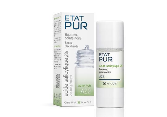 Etat Pur Salicylic Acid 15 ml | Naos